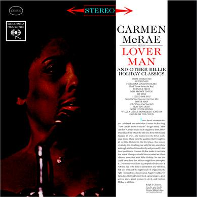 Carmen McRae SINGS LOVER MAN Vinyl Record