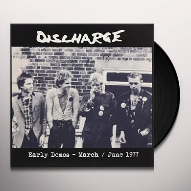 Discharge EARLY DEMOS MARCH Vinyl Record