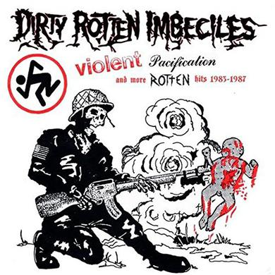 D.R.I. VIOLENT PACIFICATION & MORE ROTTEN HITS Vinyl Record
