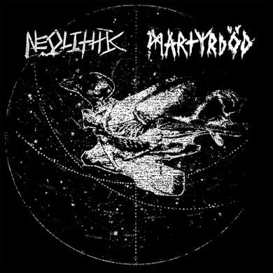 Fractured MARTRYDOD SPLIT WITH NEOLITHIC Vinyl Record