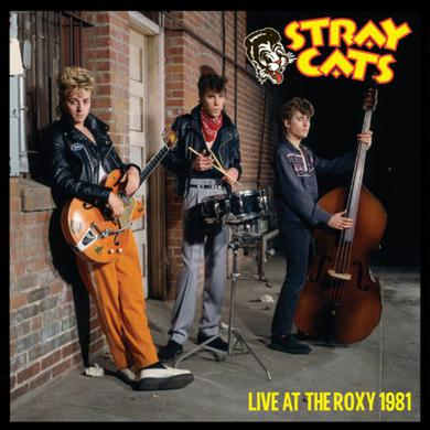 Stray Cats LIVE AT THE ROXY Vinyl Record