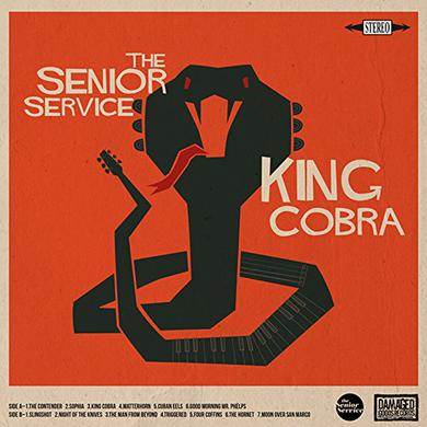 SENIOR SERVICE KING COBRA - O.S.T. Vinyl Record