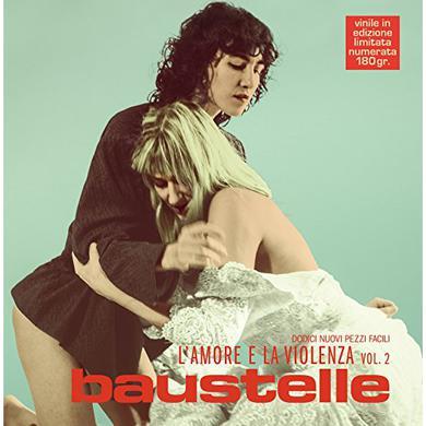 Baustelle L'AMORE E LA VIOLENZA VOL 2 Vinyl Record