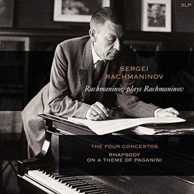 RACHMANINOV PLAYS RACHMANINOV: PIANO CONCERTOS 1-4 Vinyl Record