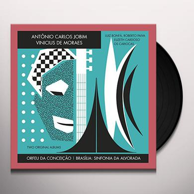 Antonio Carlos Jobim ORFEU DA CONCEICAO / BRASILIA: SINFONIA DA Vinyl Record