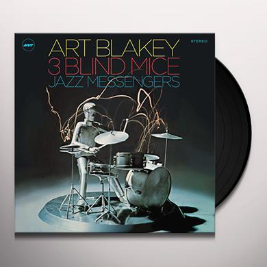 Art Blakey / Jazz Messengers THREE BLIND MICE Vinyl Record