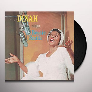 Dinah Washington SINGS BESSIE SMITH (BONUS TRACK) Vinyl Record - 180 Gram Pressing, Remastered