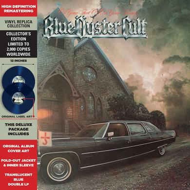 Blue Oyster Cult ON YOUR FEET OR ON YOUR KNEES Vinyl Record