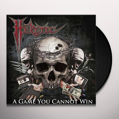 Heretic GAME YOU CANNOT WIN Vinyl Record