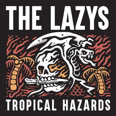 LAZYS TROPICAL HAZARDS (RED VINYL) Vinyl Record