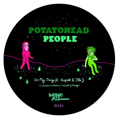 Potatohead People DO MY THING FEAT. ILLA J / RETURNING THE FLAVOUR Vinyl Record