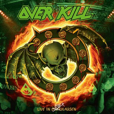 Overkill FEEL THE FIRE Vinyl Record