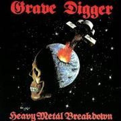 Grave Digger HEAVY METAL BREAKDOWN Vinyl Record