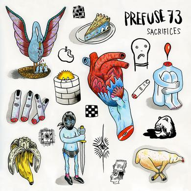 Prefuse 73 SACRIFICES Vinyl Record