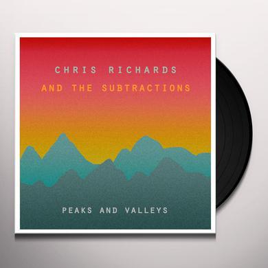 Chris Richards & The Subtractions PEAKS & VALLEYS Vinyl Record