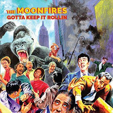 MOONFIRES (ALEX PUDDU) GOTTA KEEP IT ROLLIN Vinyl Record