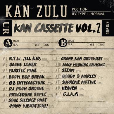 KANKICK KAN CASSETTE VOL. 2 Vinyl Record