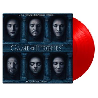 RAMIN DJAWADI GAME OF THRONES: SEASON 6 / O.S.T. Vinyl Record