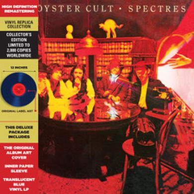 Blue Oyster Cult SPECTRES - CLEAR BLUE LP 2018 Vinyl Record