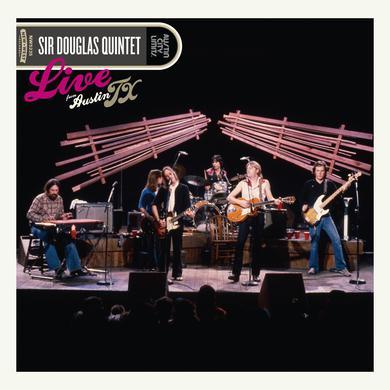 Douglas Quintet LIVE FROM AUSTIN TX Vinyl Record