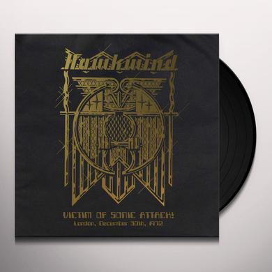 Hawkwind VICTIM OF SONIC ATTACK! LONDON DECEMBER 30TH 1972 Vinyl Record