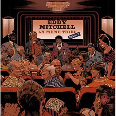 Eddy Mitchell LA MEME TRIBU VOL 2 Vinyl Record