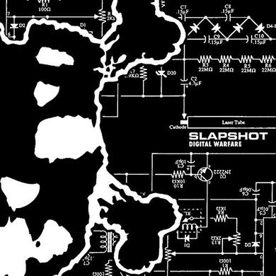 Slapshot DIGITAL WARFARE Vinyl Record
