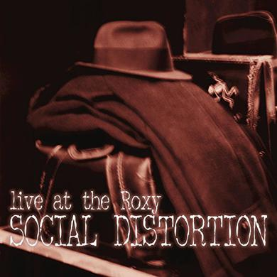 Social Distortion LIVE AT THE ROXY Vinyl Record