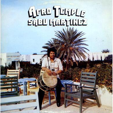 Sabu Martinez AFRO TEMPLE Vinyl Record