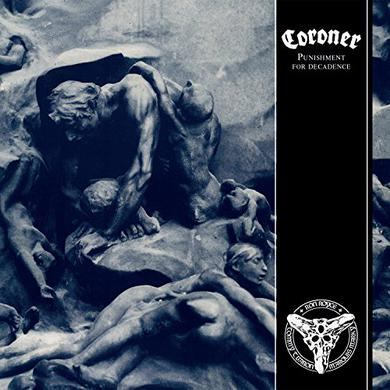 Coroner PUNISHMENT FOR DECADENCE Vinyl Record
