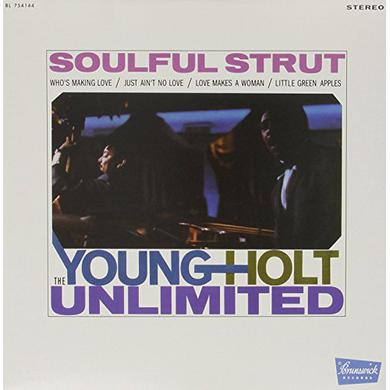Young Holt Unlimited SOULFUL STRUT Vinyl Record