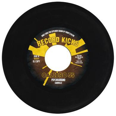 Calibro 35 PSYCHEGROUND / POLYMERI (AFRO-UTOPIA VERSION) Vinyl Record