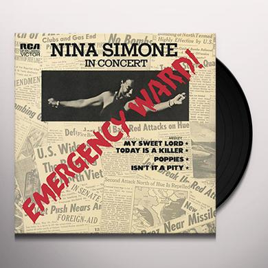 Nina Simone EMERGENCY WARD Vinyl Record