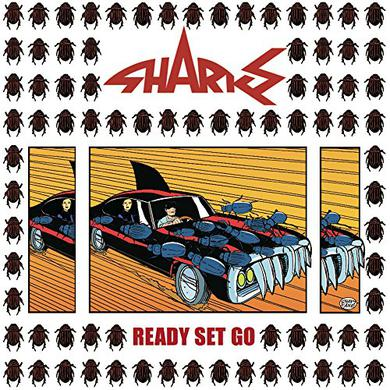 Sharks READY SET GO Vinyl Record