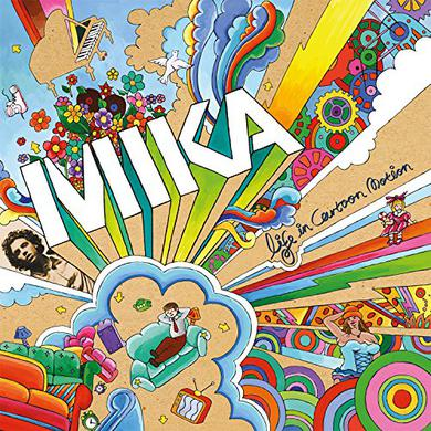 Mika LIFE IN CARTOON MOTION Vinyl Record