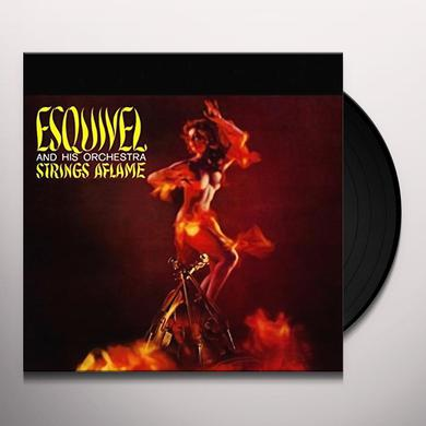 Esquivel & His Orchestra STRINGS AFLAME (BONUS TRACK) Vinyl Record - Limited Edition, 180 Gram Pressing, Collector's Edition