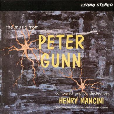 Henry Mancini MUSIC FROM PETER GUNN - O.S.T. Vinyl Record