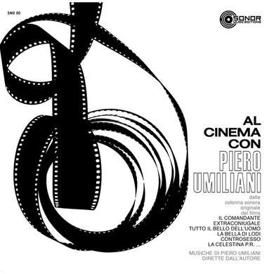 AL CINEMA CON PIERO UMILIANI Vinyl Record