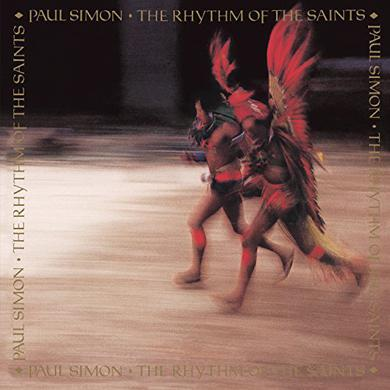 Paul Simon RHYTHN OF THE SAINTS Vinyl Record