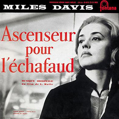 Miles Davis ASCENSEUR POUR L'ECHAFAUD Vinyl Record