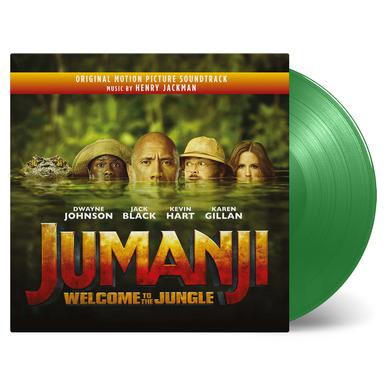 Henry Jackman JUMANJI: WELCOME TO THE JUNGLE / O.S.T. Vinyl Record