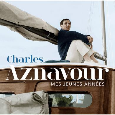 Charles Aznavour MES JEUNES ANNEES Vinyl Record