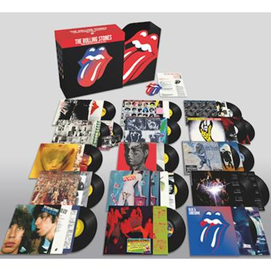 The Rolling Stones STUDIO ALBUMS VINYL COLLECTION 1971-2016 Vinyl Record