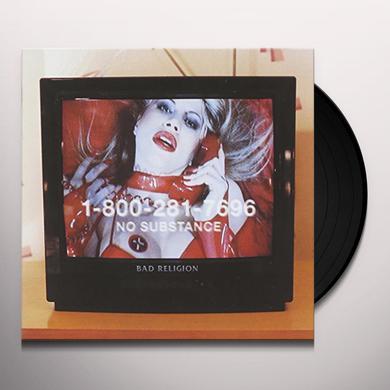 Bad Religion NO SUBSTANCE Vinyl Record