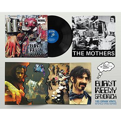 Frank Zappa BURNT WEENY SANDWICH Vinyl Record