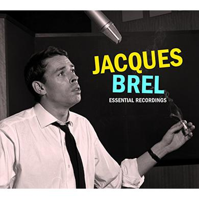 Jacques Brel ESSENTIAL RECORDINGS 1954-1962 Vinyl Record