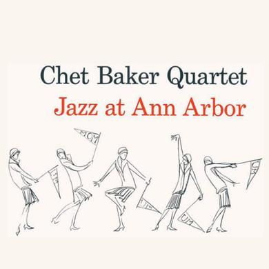 Chet Baker JAZZ AT ANN ARBOR Vinyl Record
