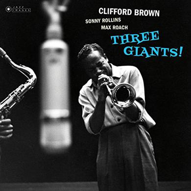 Clifford Brown THREE GIANTS Vinyl Record