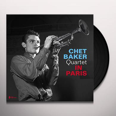 Chet Baker IN PARIS Vinyl Record