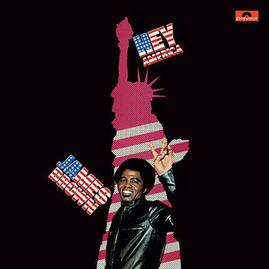James Brown HEY AMERICA Vinyl Record